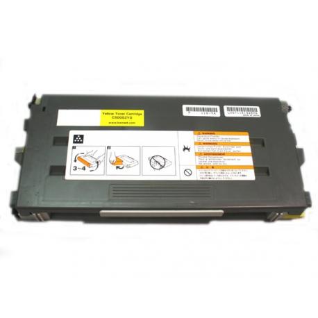 LEXMARK C500N/X500N/X502N AMARILLO CARTUCHO DE TONER COMPATIBLE (C500H2YG)