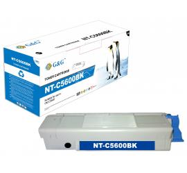 G&G OKI C5600/C5700 NEGRO CARTUCHO DE TONER COMPATIBLE (43324408)
