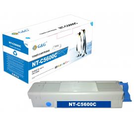 G&G OKI C5600/C5700 CYAN CARTUCHO DE TONER COMPATIBLE (43381907)
