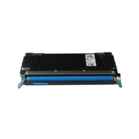LEXMARK X560 CYAN CARTUCHO DE TONER COMPATIBLE (X560H2CG/X560A2CG)