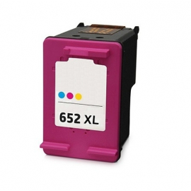 HP 652XL TRICOLOR CARTUCHO DE TINTA COMPATIBLE (F6V24AE)