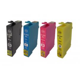 PACK EPSON T1631/T1632/T1633/T1634 (16XL) CARTUCHOS DE TINTA COMPATIBLES