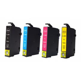 PACK 4 EPSON T2991/T2992/T2993/T2994 (29XL) CARTUCHOS DE TINTA COMPATIBLES