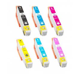 PACK EPSON T2431/T2432/T2433/T2434/T2435/T2436 (24XL) CARTUCHOS DE TINTA COMPATIBLES