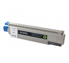 OKI MC851/MC861 NEGRO CARTUCHO DE TONER COMPATIBLE (44059168/44059256)