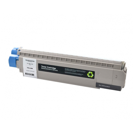 OKI MC860 AMARILLO CARTUCHO DE TONER COMPATIBLE (44059209)