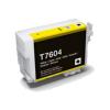 EPSON T7604 AMARILLO CARTUCHO DE TINTA PIGMENTADA COMPATIBLE (C13T76044010)
