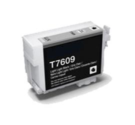 EPSON T7609 NEGRO LIGHT LIGHT CARTUCHO DE TINTA PIGMENTADA COMPATIBLE (C13T76094010)