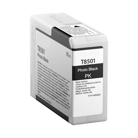 EPSON T8501 NEGRO PHOTO CARTUCHO DE TINTA PIGMENTADA COMPATIBLE (C13T850100)