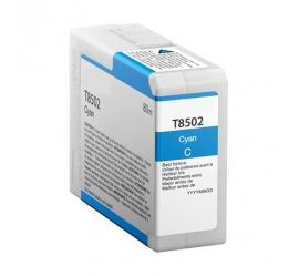 EPSON T8502 CYAN CARTUCHO DE TINTA PIGMENTADA COMPATIBLE (C13T850200)