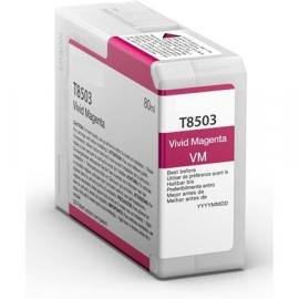 EPSON T8503 MAGENTA CARTUCHO DE TINTA PIGMENTADA COMPATIBLE (C13T850300)