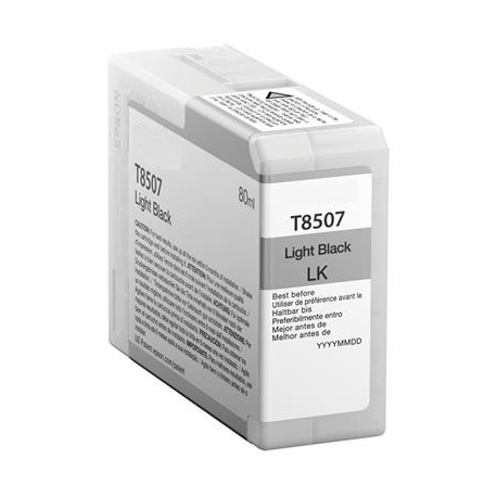 EPSON T8507 NEGRO LIGHT CARTUCHO DE TINTA PIGMENTADA COMPATIBLE (C13T850700)