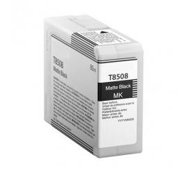 EPSON T8508 NEGRO MATE CARTUCHO DE TINTA PIGMENTADA COMPATIBLE (C13T850800)