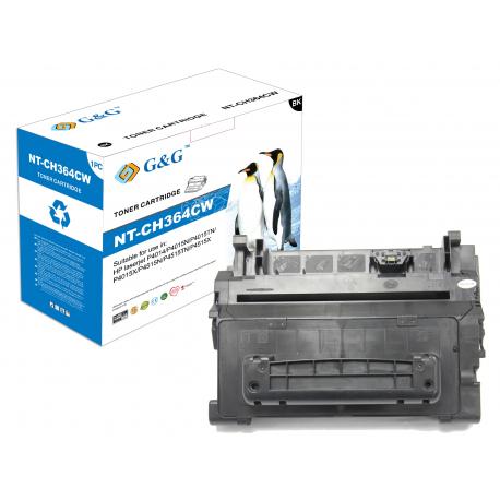 G&G HP CC364A NEGRO CARTUCHO DE TONER COMPATIBLE (Nº64A)