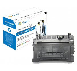 G&G HP CC364X NEGRO CARTUCHO DE TONER COMPATIBLE (Nº64X)