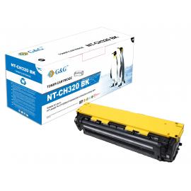 G&G HP CE320A NEGRO CARTUCHO DE TONER COMPATIBLE Nº128A