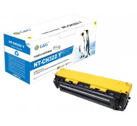 G&G HP CE322A AMARILLO CARTUCHO DE TONER COMPATIBLE Nº128A
