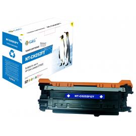 G&G HP CE252A AMARILLO CARTUCHO DE TONER COMPATIBLE Nº504A