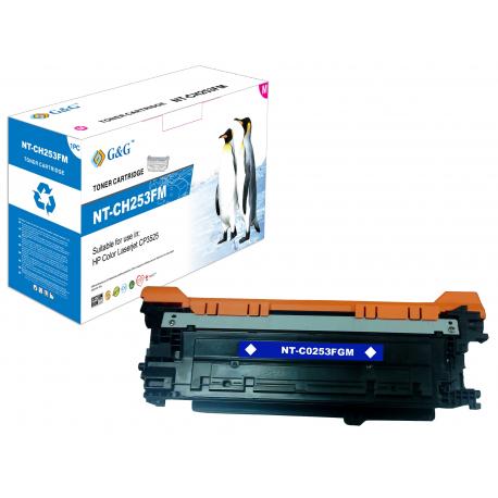 G&G HP CE253A MAGENTA CARTUCHO DE TONER COMPATIBLE Nº504A