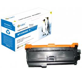 G&G HP CE262A AMARILLO CARTUCHO DE TONER COMPATIBLE Nº648A