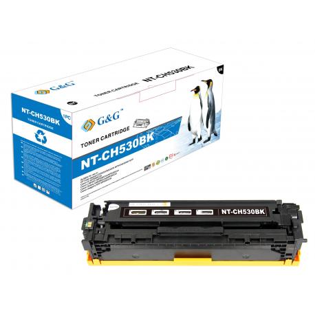 G&G HP CC530A NEGRO CARTUCHO DE TONER COMPATIBLE Nº304A