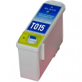 EPSON T015 NEGRO CARTUCHO DE TINTA COMPATIBLE (C13T01540110)