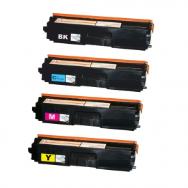 PACK 4 BROTHER TN320/TN325/TN321/TN326/TN329 CMYK CARTUCHOS DE TONER COMPATIBLES