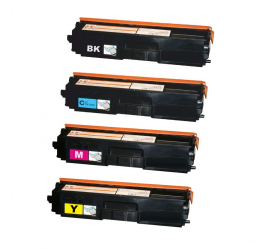PACK 4 BROTHER TN321/TN326 CMYK CARTUCHOS DE TONER COMPATIBLES