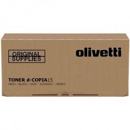 OLIVETTI D-COPIA 15/D-COPIA 20 NEGRO CARTUCHO DE TONER ORIGINAL (B0360)