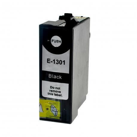 EPSON T1301 NEGRO CARTUCHO DE TINTA COMPATIBLE (C13T13014010)
