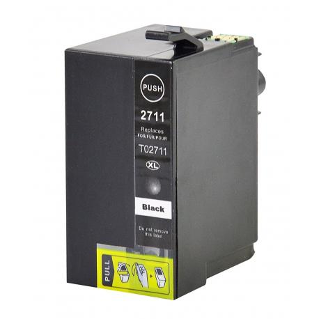 EPSON T2711/T2701 (27XL) NEGRO CARTUCHO DE TINTA COMPATIBLE (C13T27114010)