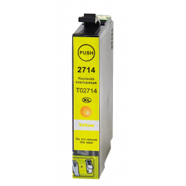 EPSON T2714/T2704 (27XL) AMARILLO CARTUCHO DE TINTA COMPATIBLE