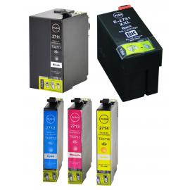 PACK EPSON T2711/T2712/T2713/T2714/T2791 (27XL) CARTUCHOS DE TINTA COMPATIBLES