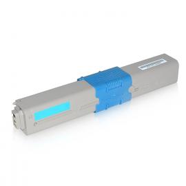 OKI C310/C510/MC351/MC361 CYAN CARTUCHO DE TONER COMPATIBLE (44469706)
