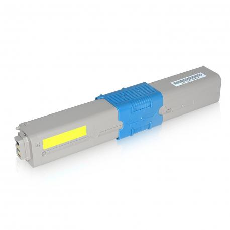 OKI C310/C510/MC351/MC361 AMARILLO CARTUCHO DE TONER COMPATIBLE (44469704)