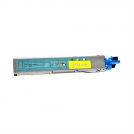 OKI C3520/C3530/MC350/MC360 AMARILLO CARTUCHO DE TONER COMPATIBLE (43459369)
