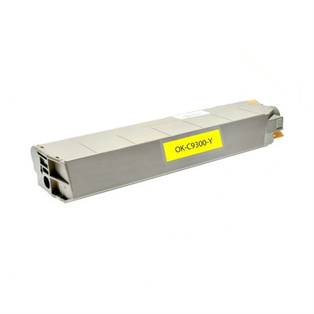 OKI C9100/C9300/C9500 AMARILLO CARTUCHO DE TONER COMPATIBLE (41963605)