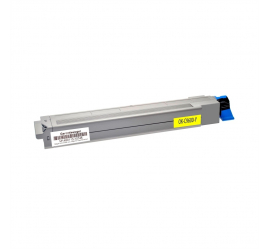 OKI C9600/C9650/C9800/C9850 AMARILLO CARTUCHO DE TONER COMPATIBLE (42918913)