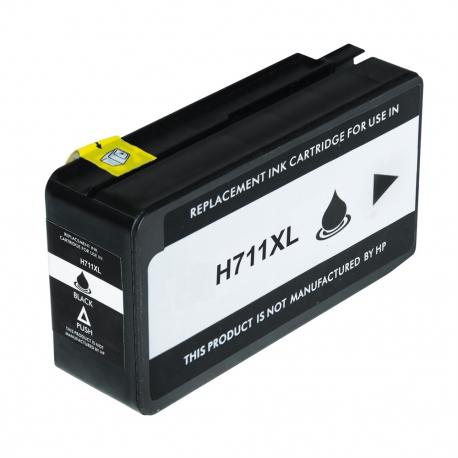 HP 711XL NEGRO CARTUCHO DE TINTA COMPATIBLE (CZ133A)