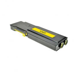XEROX PHASER 6600/6605 AMARILLO CARTUCHO DE TONER COMPATIBLE (106R02231)
