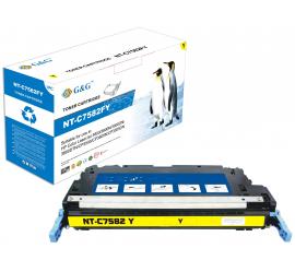 G&G HP Q7582A AMARILLO CARTUCHO DE TONER COMPATIBLE