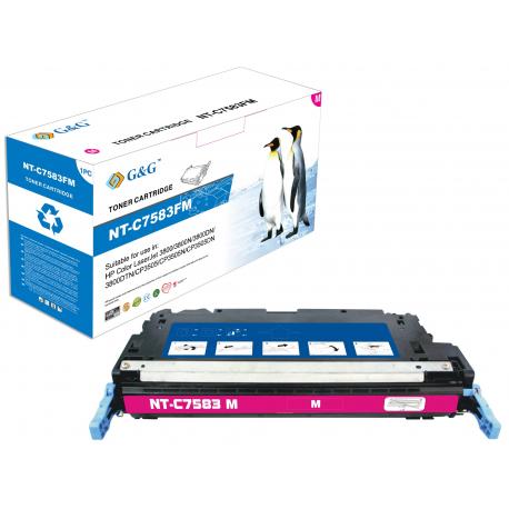 G&G HP Q7583A MAGENTA CARTUCHO DE TONER COMPATIBLE