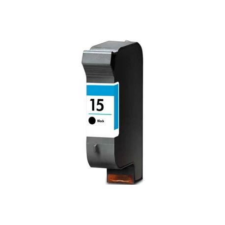 HP 15 NEGRO CARTUCHO DE TINTA PIGMENTADA COMPATIBLE (C6615DE)
