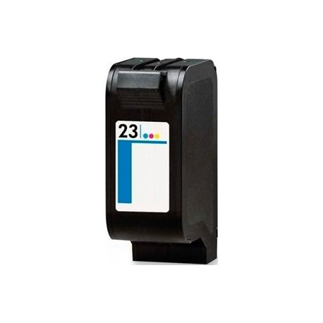 HP 23 TRICOLOR CARTUCHO DE TINTA COMPATIBLE (C1823DE/C1823GE)