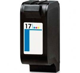 HP 17 TRICOLOR CARTUCHO DE TINTA COMPATIBLE (C6625AE)