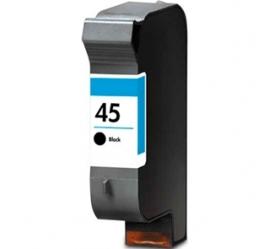 HP 45 NEGRO CARTUCHO DE TINTA PIGMENTADA COMPATIBLE (51645AE)