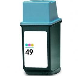 HP 49 TRICOLOR CARTUCHO DE TINTA COMPATIBLE (51649AE)
