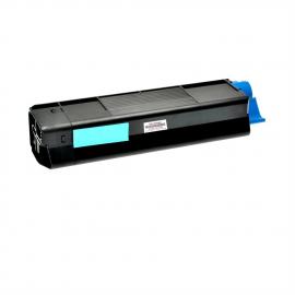 OKI C5100/C5200/C5400/C5250/C5450/C3100/C3200 CYAN CARTUCHO DE TONER COMPATIBLE