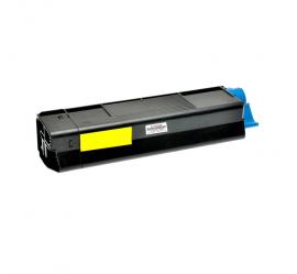 OKI C5850/C5950/MC560 AMARILLO CARTUCHO DE TONER COMPATIBLE (43865721)
