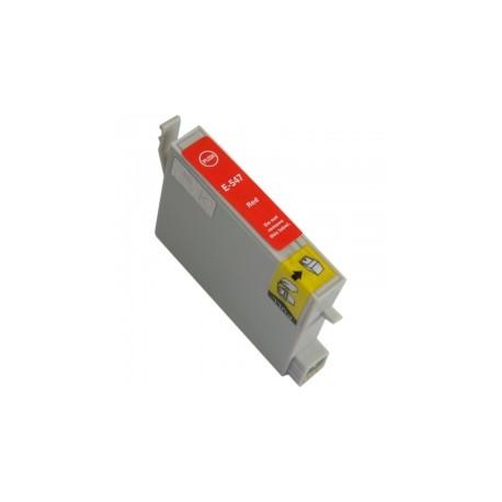 EPSON T0547 ROJO CARTUCHO DE TINTA COMPATIBLE (C13T05474010)